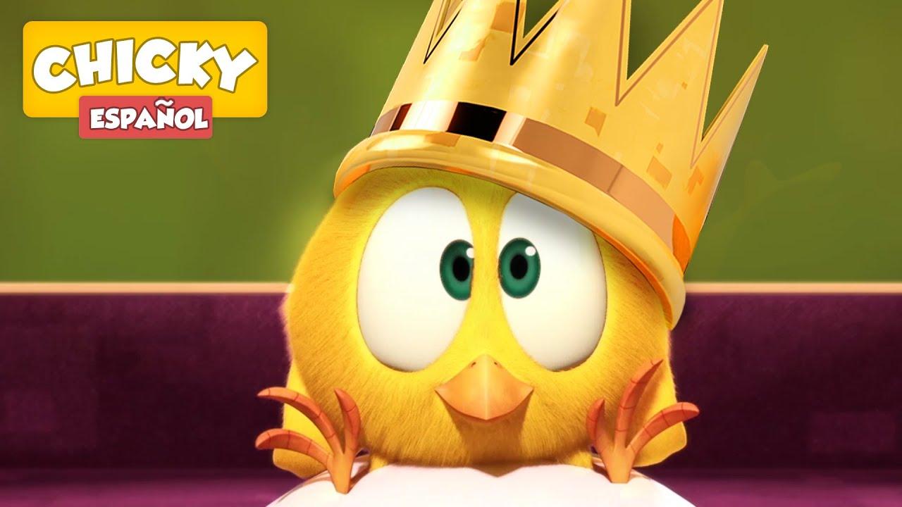 ¿Dónde está Chicky?   EL REY CHICKY   Dibujos Animados Para Niños