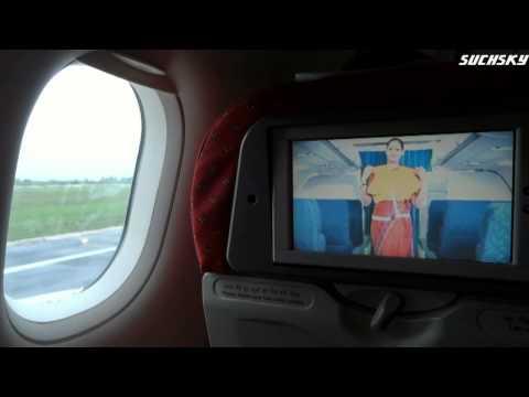 Air India trip report  Part-1, Chennai to Kolkata-Take off
