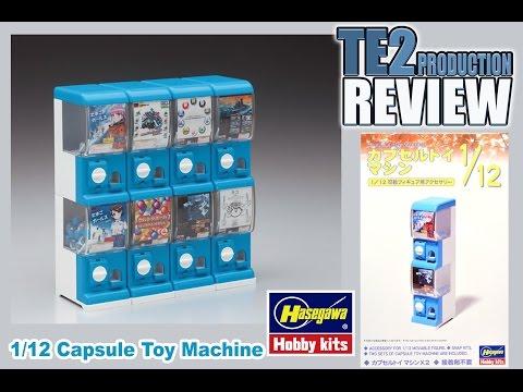 Review 1/12 Capsule Toy Machine par Hasegawa Hobby Kits