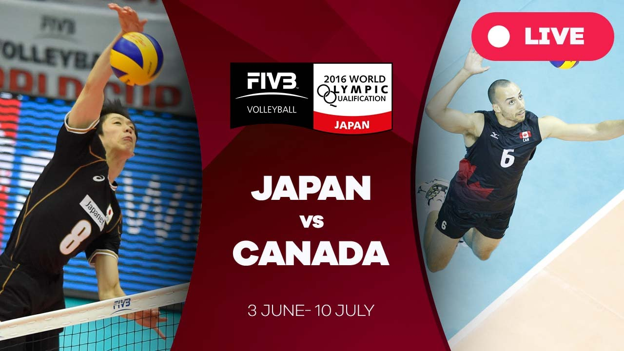 Japan v Canada - 2016 Men's World Olympic Qualification Tournament