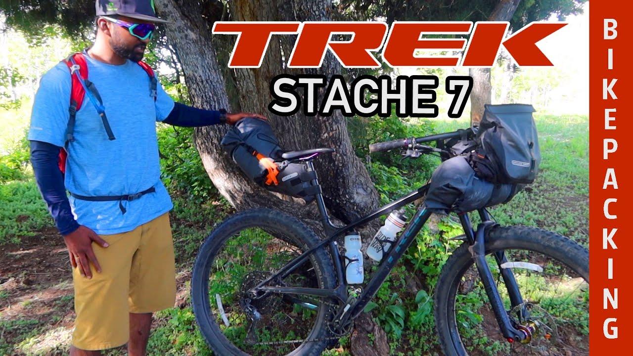 Praveen's TREK Stache 7 Hardtail 29+ Bikepacking Bicycle