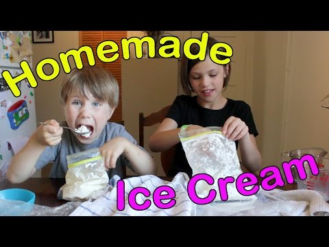 How To Make Homemade Ice Cream Using Plastic Bags