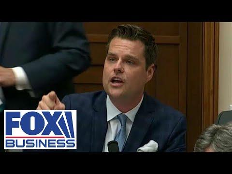 Former Gaetz staff member holds press conference