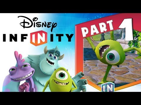 DISNEY INFINITY ⍣ Monsters Inc ⍣ Walkthrough Part 1 (PC, PS3, X360, Wii U)