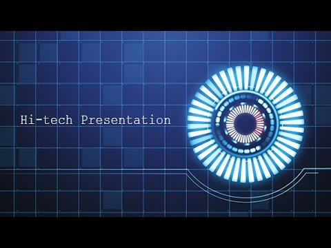 Hi tech presentation template free download youtube hi tech presentation template free download toneelgroepblik Choice Image