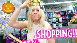 SHOPPING FOR HALLOWEEN COSTUMES!!!