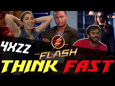 The Flash - 4x22 Think Fast - Group Reaction