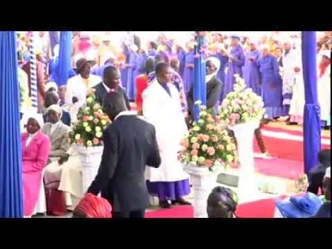 LIBARIKIWE JINA LA YESU -PST . ANGELINE Mombasa Revival Meeting  March 2017