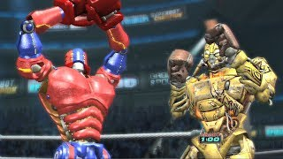 REAL STEEL THE VIDEO GAME [XBOX360/PS3] - MIDAS vs NUMMSKULL