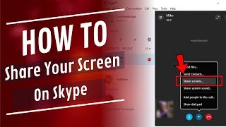 How to Share Screen on Skype During Call or Conversation (For Desktop) Urdu/Hindi