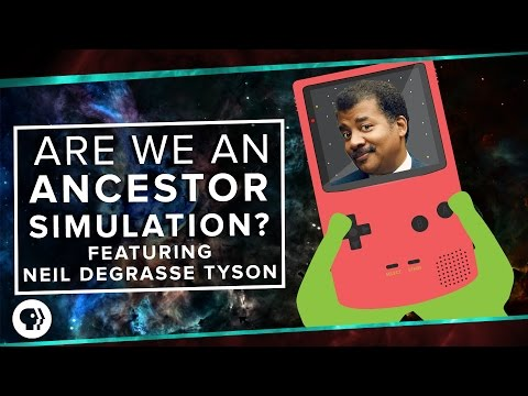 Thumbnail: Are We Living in an Ancestor Simulation? ft. Neil deGrasse Tyson | Space Time