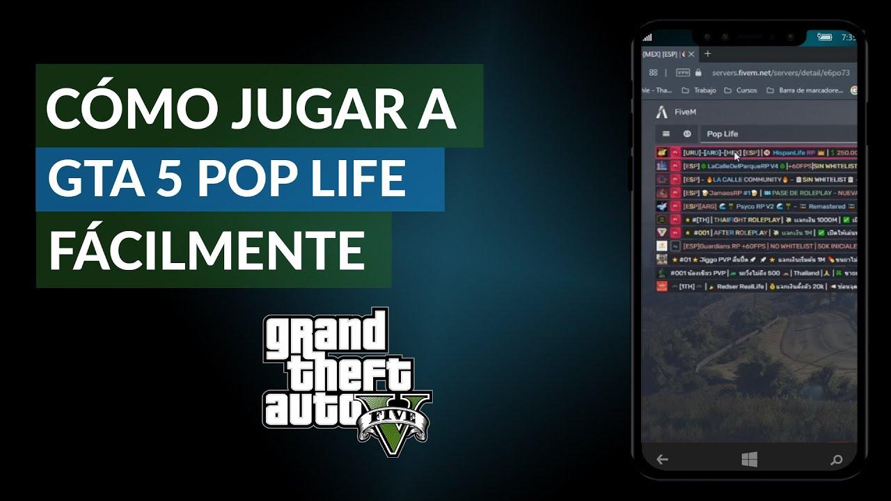 Cómo Jugar A Gta 5 Pop Life Fácilmente Grand Theft Auto 5 Ejemplo Mira Cómo Se Hace