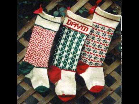Knitting Pattern For Christmas Stocking Youtube
