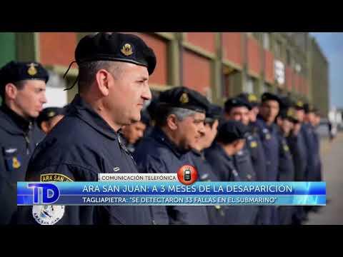 ARA San Juan: Comunicación Telefónica con Luis Tagliapietra