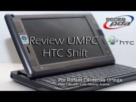 HTC Shift UMPC - PoderPDA Review