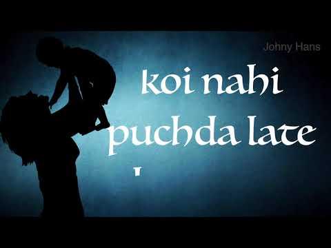 Maa | When You Miss Your Mother | Lastest Whatsapp Status Punjabi Shayari | Johny Hans 2018