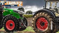 LS19 FarmerTown 2 #47: TRAKTOR abgeschleppt im Regen | LANDWIRTSCHAFTS SIMULATOR 19
