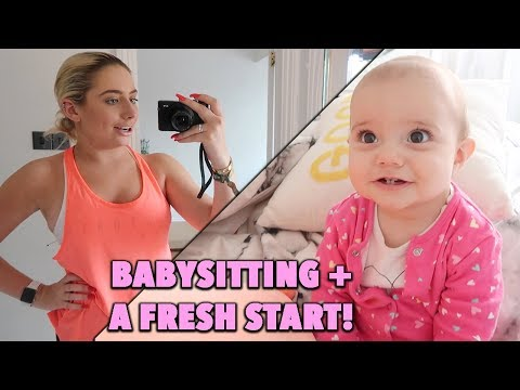 BASITTING MY BA NIECE!! + A FRESH START?!?! 😱