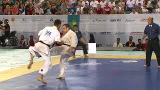 【新極真会】1st Round1 Man Lightweight Zinchenko vs Akhmetzhan The 6th World Championship 2017