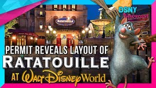 Permit Reveals NEW DETAILS for RATATOUILLE Attraction coming to EPCOT- Disney News - 11/23/17