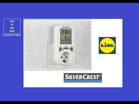 SilverCrest Energy Monitor Z30412-FR UNBOXING (Lidl Z30412 220 - 240V ~ 16A; 10 A)
