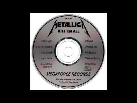 Metallica - Kill 'Em All (Megaforce MRI CD 069)