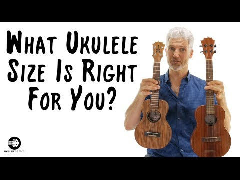 Ukulele Sizes And What Is Best For You | Soprano, Concert, Tenor, Or Baritone?