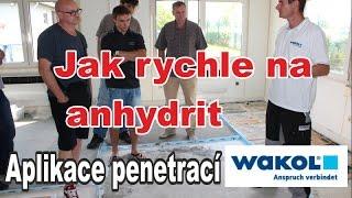 Jak urychlit nivelaci na anhydritové podlahy?