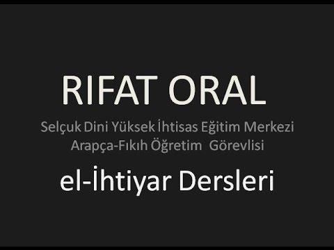 rifat oral el ihtiyar dersleri 1 a temizlik abdest