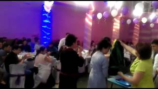 Свадьба Бозовых:Азамат-Гульден.Город Каражал....круто,04.06.16