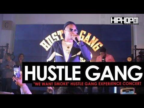 Hustle Gang (GFMBryyce, RaRa, T.I.,Translee, Brandon Rossi) Perform at the