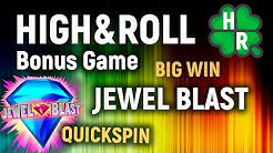 Bonus Game Jewel Blast Slot Machine Online (Quickspin)
