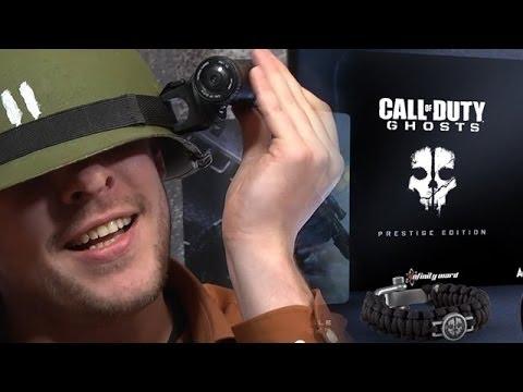 Call Of Duty: Ghosts - Unboxing / Boxenstopp Zur Prestige-Edition Mit Helmkamera