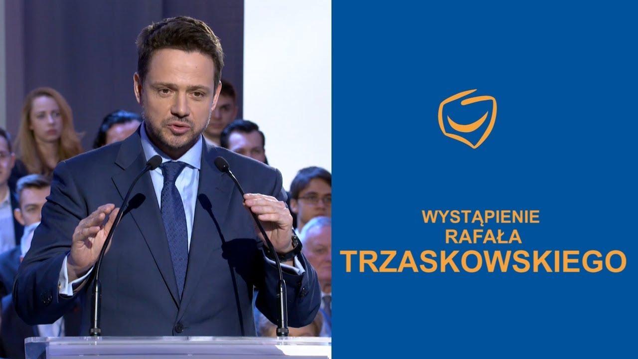 Wystąpienie Rafała Trzaskowskiego, Rada Krajowa PO, Warszawa, 24.02.2018