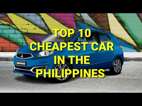 Top 10 cheapest car in the Philippines