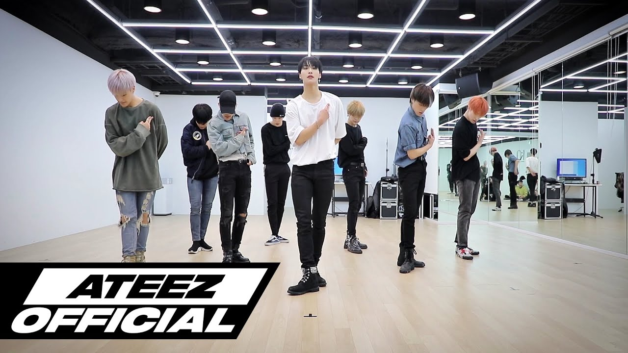 「ateez answer dance practice」の画像検索結果