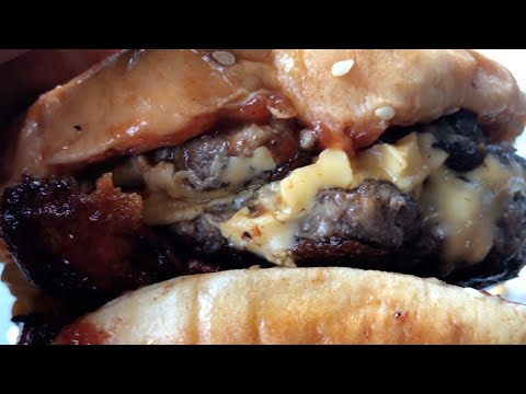 Five Guys A1 Double Bacon Cheeseburger   WELL DAYUM!!!