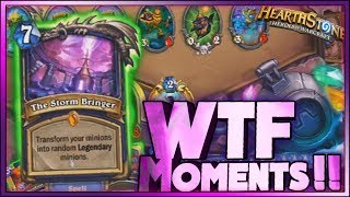 Hearthstone- WTF Moments - Daily Funny Rng Moments