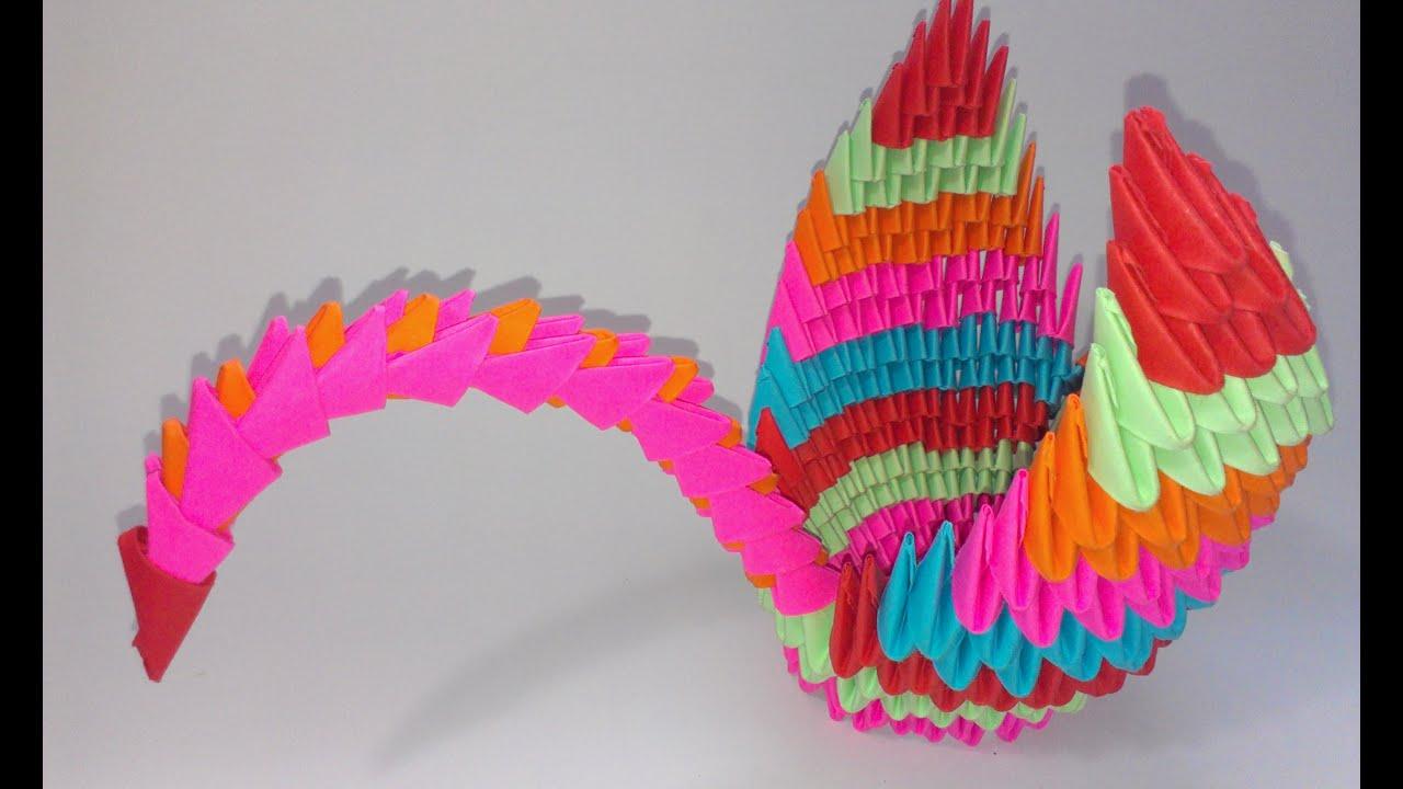 модульное оригами схема звезды из модулей