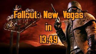 Fallout: New Vegas Speedrun in 13:49