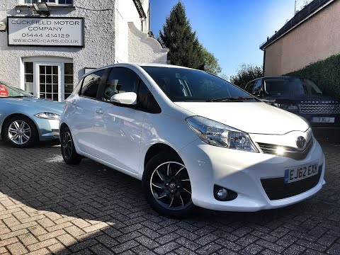 Toyota Yaris 1.0 VVT-i Edition 5dr For Sale At CMC-Cars, Near Brighton, Sussex