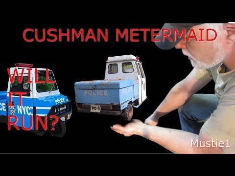 cushman meter maid gets rubber and wiring done
