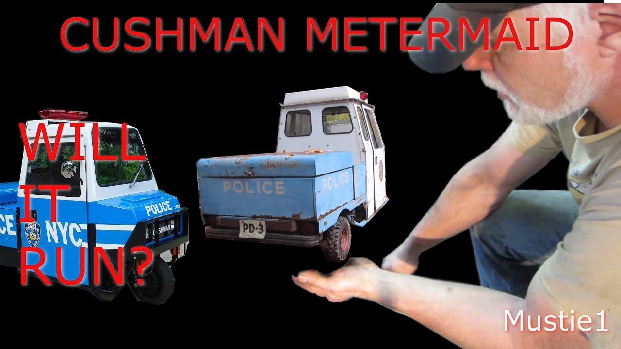 small resolution of cushman meter maid gets rubber and wiring done