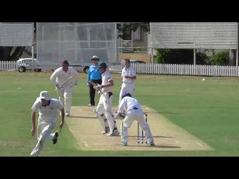 GPS Cricket - Nudgee Bowling v IGS (February 2017)