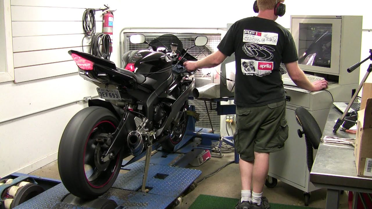 2006 yamaha r6 dyno test post tuning youtube. Black Bedroom Furniture Sets. Home Design Ideas
