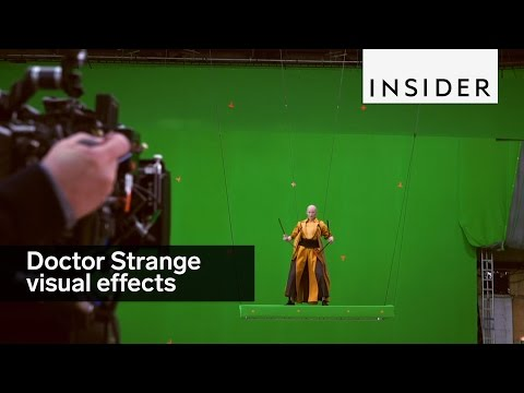 "This is what Marvel's ""Doctor Strange"" looked like before visual effects"
