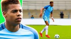 LUKAS NMECHA - Goals & Skills   2018   Manchester City