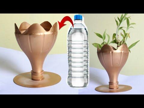 Diy Waste Material Craft Ideas Best Out Of Waste Plastic Flower Vase