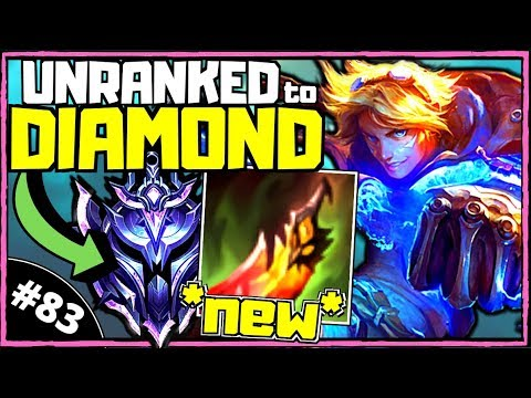 [10.7] *NEW* Crazy Ezreal Build | Unranked To Diamond ADC [Ep. 83] | League Of Legends (Season 10)