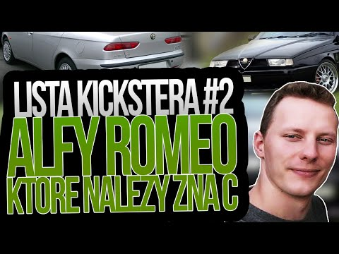 Alfy Romeo Które Należy Znać - Lista Kickstera #2